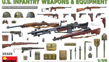 1/35 U.S. Infantry Weapons & Equipment