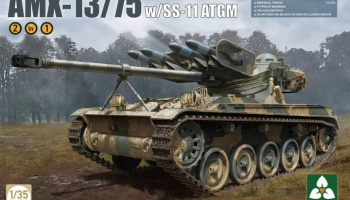 AMX-13/75 SS11 ATGM French Light Tank - Takom