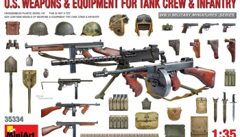 1/35 U.S. Weapons & Equipment for Tank Crew & Infantry