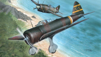 1/32 ki-27 Otsu Nate Over Malaya and..