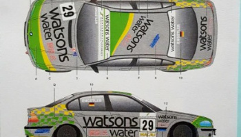 BMW 320i E46 Macau Guia 2002 Team Schubert 1/24 - SK Decals