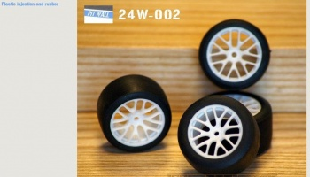 BBS Racing GT wheels set 1/24 - PIT WALL