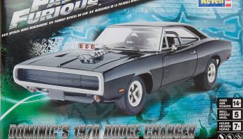 Fast & Furious™ Dominic's 1970 Dodge Charger (1:25) Plastic ModelKit - Revell Monogram 4319