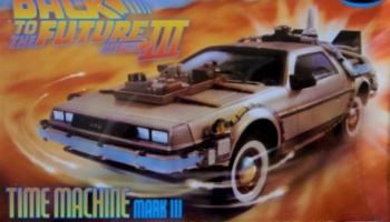 DeLorean Back to The Future III Time Machine - Polar Lights