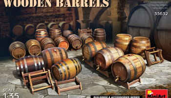 1/35 Wooden Barrels - Miniart
