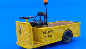 U.S.Electric cart C4-32 mule 1/35 - Plus Model