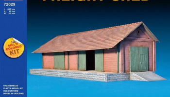1/72 Freight Shed