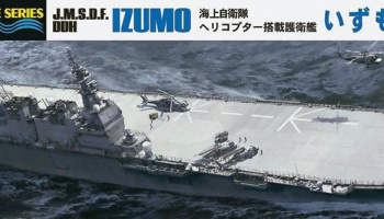 J.M.S.D.F DDH Izumo Helicopter Destroyer 1/700 - Hasegawa