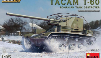 1/35 Tacam T-60 Romanian Tank Destroyer. Interior Kit