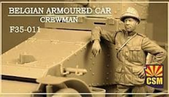 1/35 Belgian Armoured Car Crewman