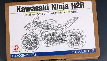 Kawasaki Ninja H2R Detail-UP Set - Hobby Design