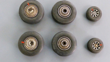 1/72 Wheels for L749 Constelation