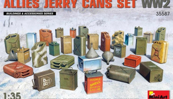 Allies Jerry Cans Set WW2 1/35- MiniArt