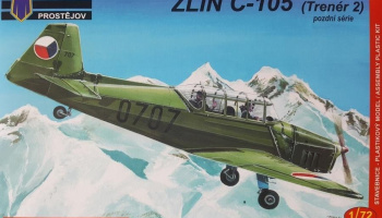 1/72 Zlin C-105 Late Military