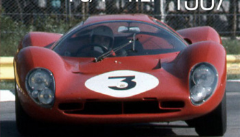 Sportscar Spectacles by HIRO No.01 : Ferrari 330P4 P3/4-412P 1967