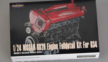 Nissan RB26 Engine Full detail Kit For R34 - Hobby Design