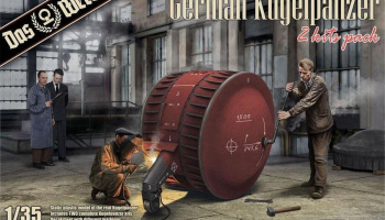 German Kugelpanzer (2 Kits Pack) 1/35 - Das Werk