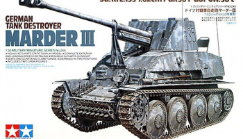 Marder III German Tank Destroyer (1:35) - Tamiya