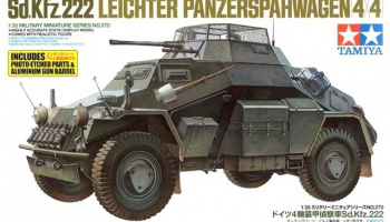 Sd.Kfz.222 w/Photo Etched Parts (1:35) - Tamiya
