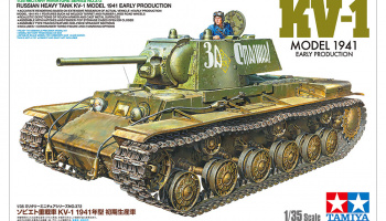 Russian Heavy Tank KV-1 Model 1941 Early Production 1/35 - Tamiya