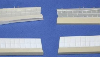 1/32 A6M2 Zero Mod.21 landig flaps set for TAM