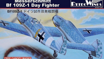 1/72 Messerschmitt Bf 109Z-1 Day Fighter