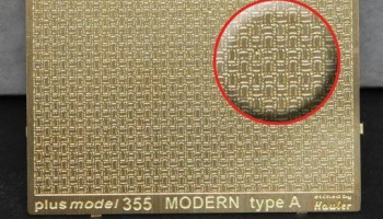 1/35 Engraved plate – modern type A