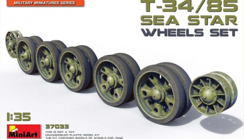 "1/35 T-34/85 ""Sea Star"" Wheels Set"
