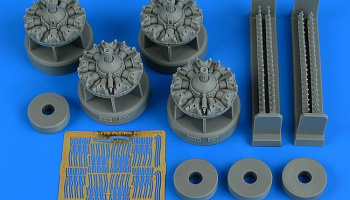 1/48 B-17G flying fortress engine set for HKMODEL kit