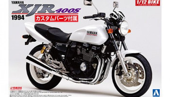 YAMAHA XJR400S WITH CUSTOM PARTS 1/12 - Aoshima