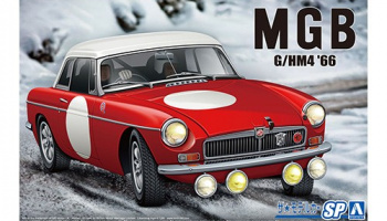 BLMC G/HM4 MG-B CLUB RALLY Ver. '66 1/24 - Aoshima