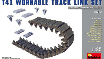 1/35 T41 Workable Track Link Set