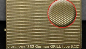1/35 Engraved plate – German grill