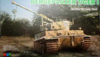 Bergepanzer Tiger I Sd.Kfz.185 Italy 1944 1/35 – Rye Field Model