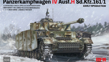 Panzerkampfwagen IV Ausf.H Sd.Kfz.161/1 EARLY RPODUCTION 1/35 - Rye Field Model