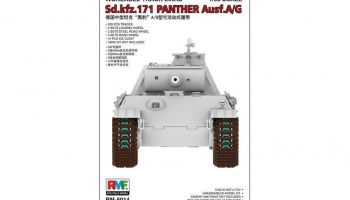 Workable Tracks for Panther A or G 1/35 – Rye Field Model