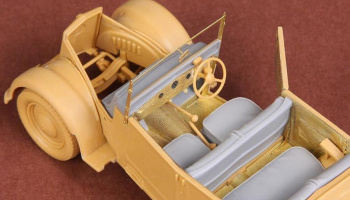 1/35 Fiat 508CM Coloniale interior set - Resin+PE for Italeri