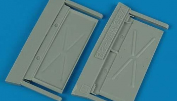 1/48 MiG-29A Fulcrum air intake covers