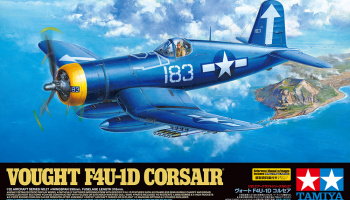 Vought F4U-1D Corsair 1/32 - Tamiya