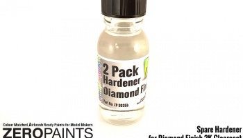 60ml Spare Hardener for (Diamond 2 Pack GLOSS Clearcoat Set ZP-3035) - Zero Paints