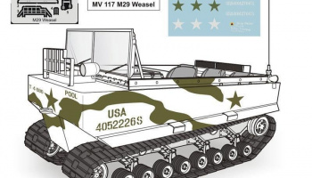 1/72 M29 Weasel – full resin kit