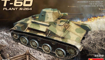 1/35 T-60 (Plant No.264,Stalingrad) Interior Kit