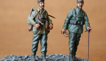 1/35 German Mountain Troops - Gebirgsjäger (2 fig.