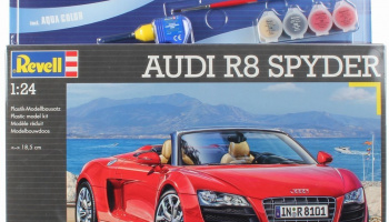 AUDI R8 SPYDER 1:24 Model Set - Revell