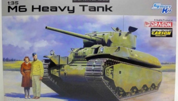 M6 Heavy Tank Black Label Series 1:35 - Dragon