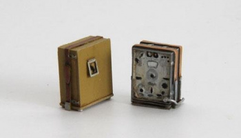 1/35 German wireless station WWII with accumulator