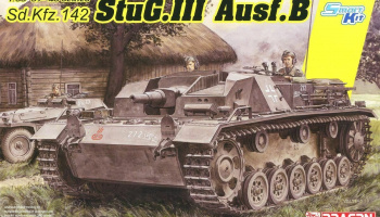 StuG.III Ausf.B (Smart Kit) (1:35) Model Kit tank 6919 - Dragon