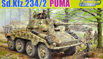 Sd.Kfz.234/2 Puma Premium Edition 1/35 - Dragon