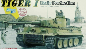 Tiger I Early Production Battle of Kharkov 1:35 - Dragon