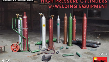 1/35 High Pressure Cylinders w/Welding Equipment